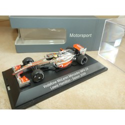 VODAFONE McLAREN MERCEDES MP4-24 GP 2009 L. HAMILTON MINICHAMPS 1:43
