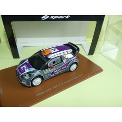 CITROEN DS3 WRC RALLYE D'ACROPOLE 2011 P. VAN MERKSTEIJN SPARK S3305 1:43