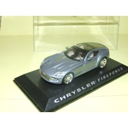 CHRYSLER FIREPOWER Gris CONCEPT CAR NOREV Presse 1:43
