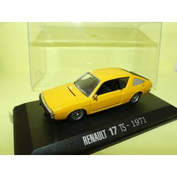 RENAULT 17 TS 1971 Jaune NOREV Collection M6 1:43