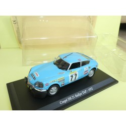 CITROEN DS 21RALLYE DU PORTUGAL TAP 1972 UNIVERSAL HOBBIES  1:43 blister