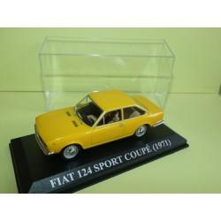 FIAT 124 SPORT COUPE 1971 Jaune ALTAYA 1:43