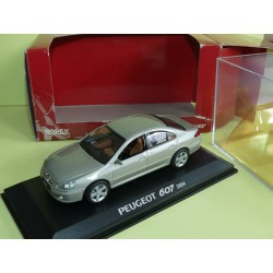 PEUGEOT 607 Phase II Gris NOREV 1:43