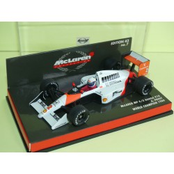 McLAREN MP4-5 HONDA V10 GP 1989 A. PROST MINICHAMPS 1:43 world champion