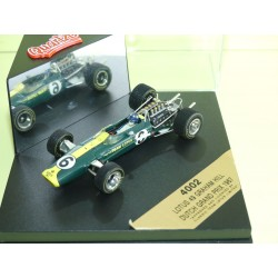LOTUS 49 GP D'ALLEMAGNE 1967 G. HILL QUARTZO 4002 1:43