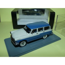 GAZ VOLGA M22 1960 Bleu et Blanc NEO 1:43