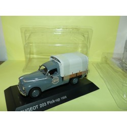 PEUGEOT 203 PICK UP 1956 Menuiserie NOREV 1:43 blister