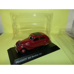 PEUGEOT 302 BERLINE 1937 Bordeaux NOREV 1:43 blister