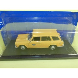 SIMCA 1300 BREAK 1966 PTT LA POSTE UNIVERSAL HOBBIES ATLAS 1:43 blister
