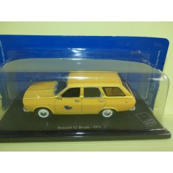 RENAULT 12 BREAK 1971 PTT LA POSTE UNIVERSAL HOBBIES ATLAS 1:43 blister
