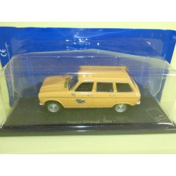 PEUGEOT 204 BREAK 1969 PTT LA POSTE UNIVERSAL HOBBIES  1:43 blister
