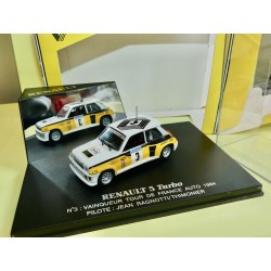 RENAULT 5 TURBO TOUR D'ITALY 1979 G. FREQUELIN UNIVERSAL HOBBIES 1:43