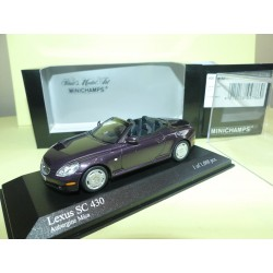 LEXUS SC 430 2001 Purple MINICHAMPS 1:43
