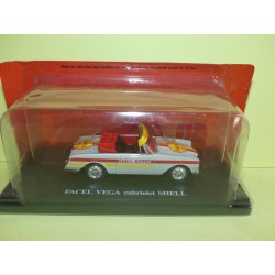 FACEL VEGA CABRIOLET SHELL Tour De France IXO PRESSE 1:43
