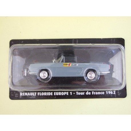 RENAULT FLORIDE Europe 1 Tour De France 1962 NOREV pour ATLAS 1:43