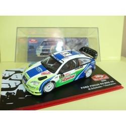 FORD FOCUS RS WRC 06 RALLYE DE MONTE CARLO 2006 GRONHOLM ALTAYA 1:43