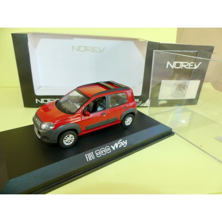 FIAT UNO WAY Rouge NOREV 1:43