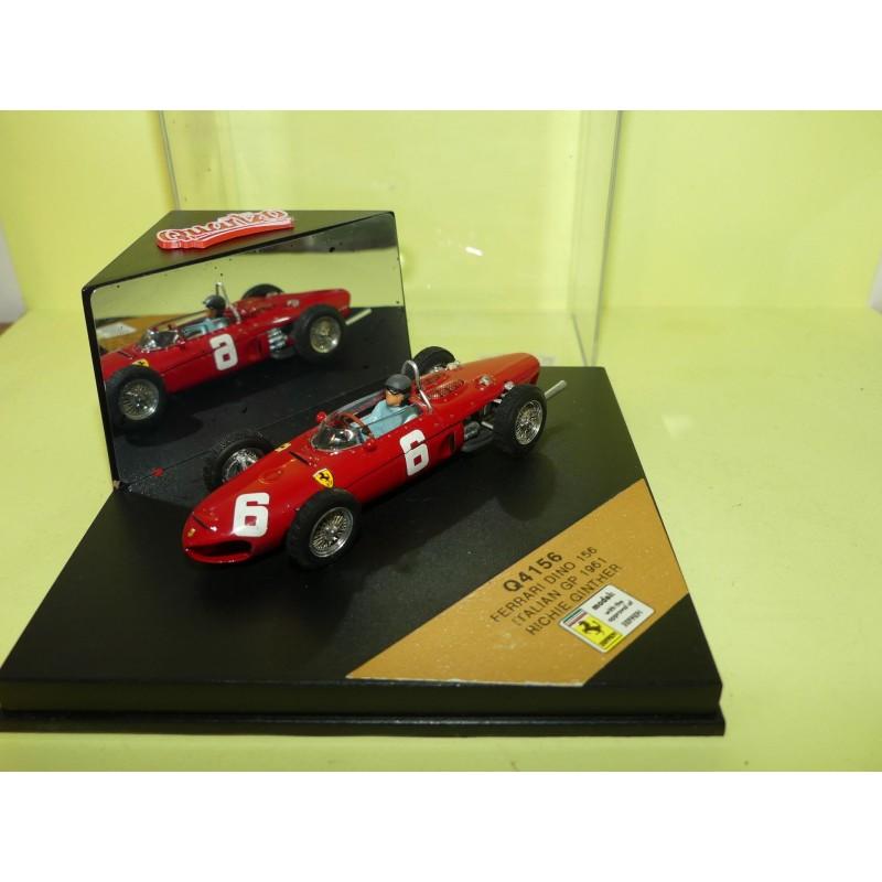 FERRARI 156 GP D'ITALE 1961 R. GINTHER QUARTZO 4156 1:43