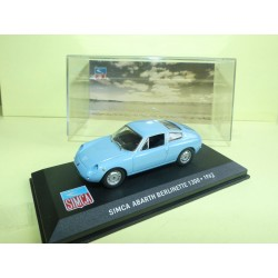 SIMCA ABARTH BERLINETTE 1300 1963 Bleu ALTAYA 1:43