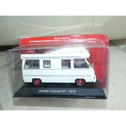 CAMPING CAR CITROEN TYPE H CURRUS 1973 IXO PRESSE 1:43