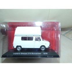 CAMPING CAR LEYLAND SHERPA 215 BUCCANEER 1978 IXO PRESSE 1:43