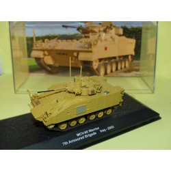 BLINDÉ MILITAIRE N°22 MCV-80 WARRIOR IRAQ 2003 ALTAYA 1:72