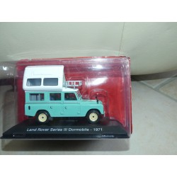 CAMPING CAR LAND ROVER SERIES III DORMOBILE 1971 IXO PRESSE 1:43