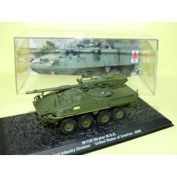 BLINDÉ MILITAIRE N°24 M1128 STRYKER MGS USA 2006 ALTAYA 1:72