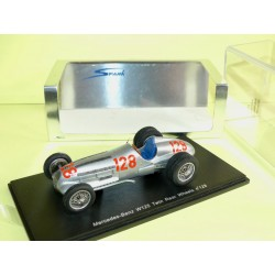 MERCEDES W125 N°128 TWIN REAR WHEELS HILL CLIMB 1939 H. LANG SPARK S1031 1:43