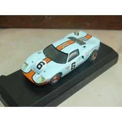 FORD GT40 N°6 LE MANS 1969 KIT STARTER 1:43 1er
