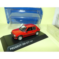 PEUGEOT 205 GTi 1,9 L 1989 Rouge NOREV 1:43 blister