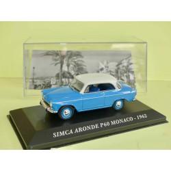 SIMCA ARONDE P60 1962 Bleu et Blanc ALTAYA 1:43