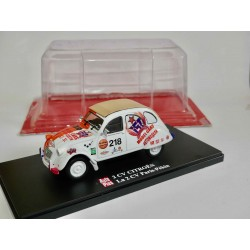 CITROEN 2CV N°021 RAID PARIS PEKIN AUTO PLUS 1:43