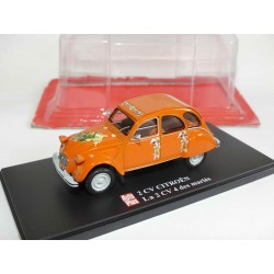 CITROEN 2CV N°050 2CV 4 DES MARIES AUTO PLUS 1:43