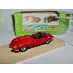JAGUAR TYPE E ROADSTER 1964 Rouge ELIGOR 1152 1:43