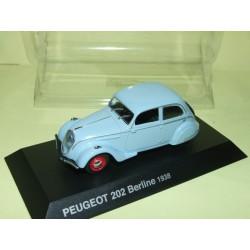 PEUGEOT 202 BERLINE 1938 Bleu Ciel NOREV 1:43 blister