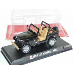 JEEP CJ7 LAREDO 1982 Noir AUTO PLUS 1:43