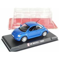 VW BEETLE Bleu AUTO PLUS 1:43