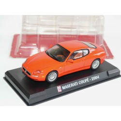 MASERATI COUPE 2004 Rouge AUTO PLUS 1:43