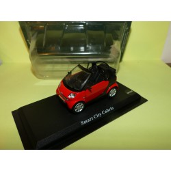 SMART CITY CABRIOLET Rouge DEL PRADO  1:43 blister