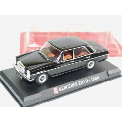 MERCEDES 220 D 1968 Noir AUTO PLUS 1:43