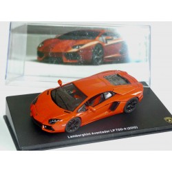 LAMBORGHINI GALLARDO AVENTADOR LP700-4 2010 Orange IXO PRESSE 1:43