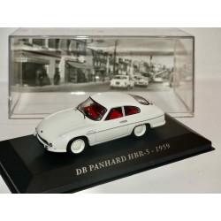 PANHARD DB HBR-5 1959 Blanc ALTAYA 1:43 défaut socle