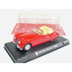 JAGUAR XK140 1956 Rouge AUTO PLUS 1:43