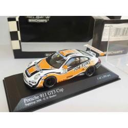PORSCHE 911 GT3 CUP SUPERCUP 2006 BECKER MINICHAMPS 1:43