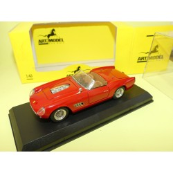 FERRARI 250 CALIF COMPETIZIONE 1960 Rouge ART MODEL ART115 1:43