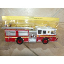 CAMION POMPIERS N°028 ENGINE DU FIRE OF NEW YORK HACHETTE 1:43