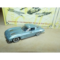 CHEVROLET CORVETTE STINGRAY 1963 Bleu MATCHBOX CCV 05-M 1:43