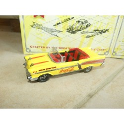 CHEVROLET BEL AIR 1957 COCA COLA MATCHBOX DYG02/B-M 1:43