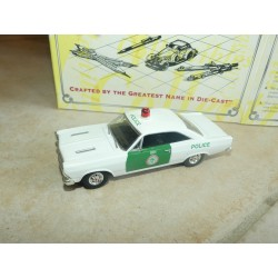 FORD FAIRLINE 1966 POLICE MIAMI MATCHBOX DYM38020 1:43